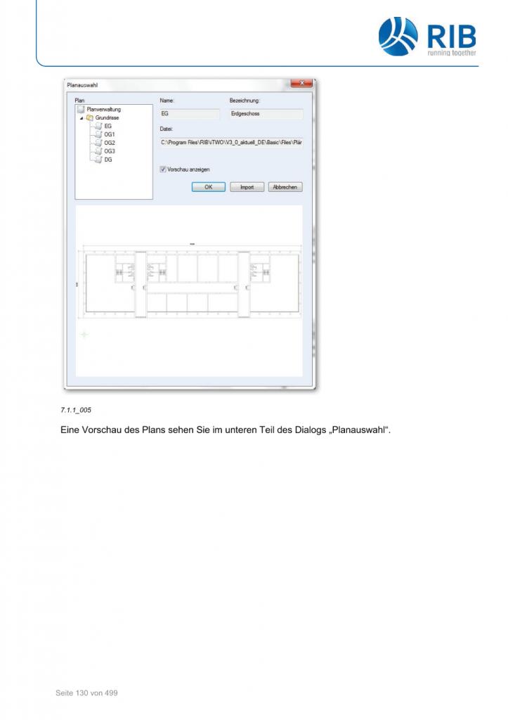 2D-Mengenermittlung mit RxSDK in iTWO Seite 004