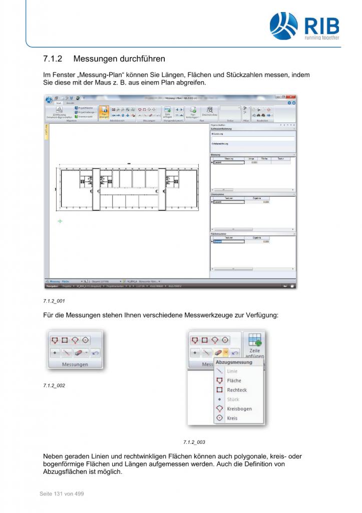 2D-Mengenermittlung mit RxSDK in iTWO Seite 005