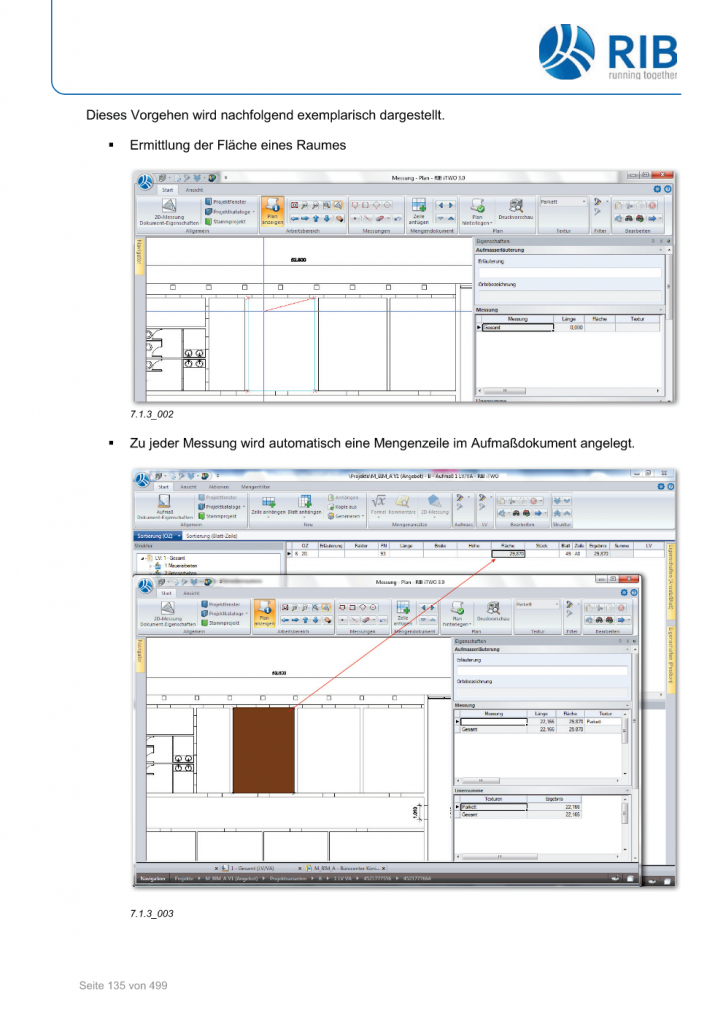 2D-Mengenermittlung mit RxSDK in iTWO Seite 009