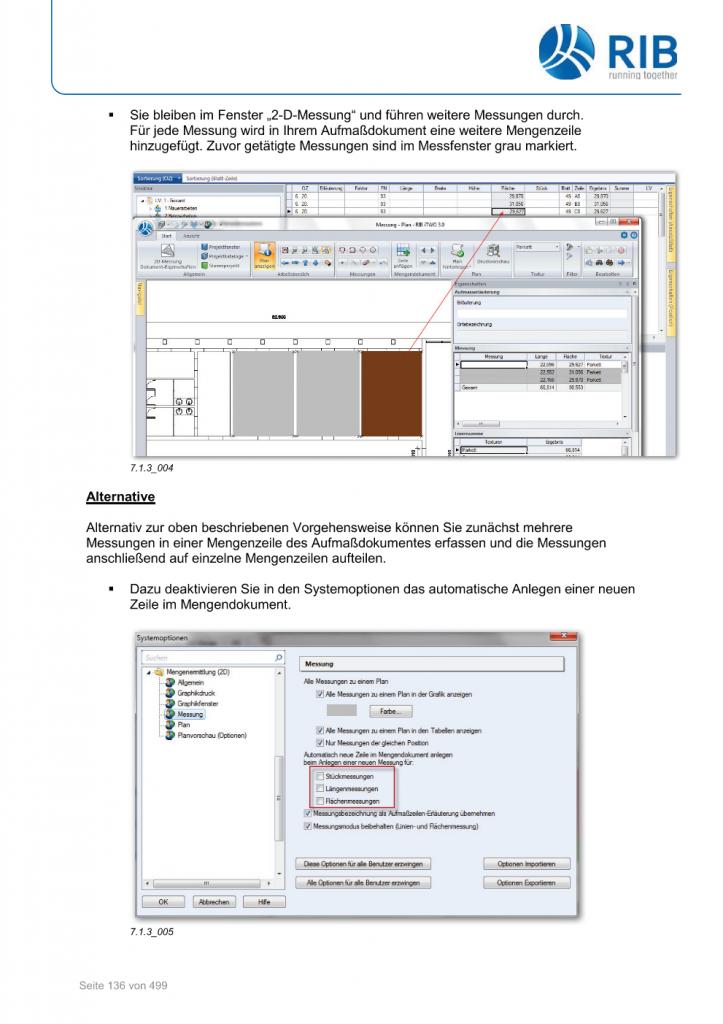 2D-Mengenermittlung mit RxSDK in iTWO Seite 010