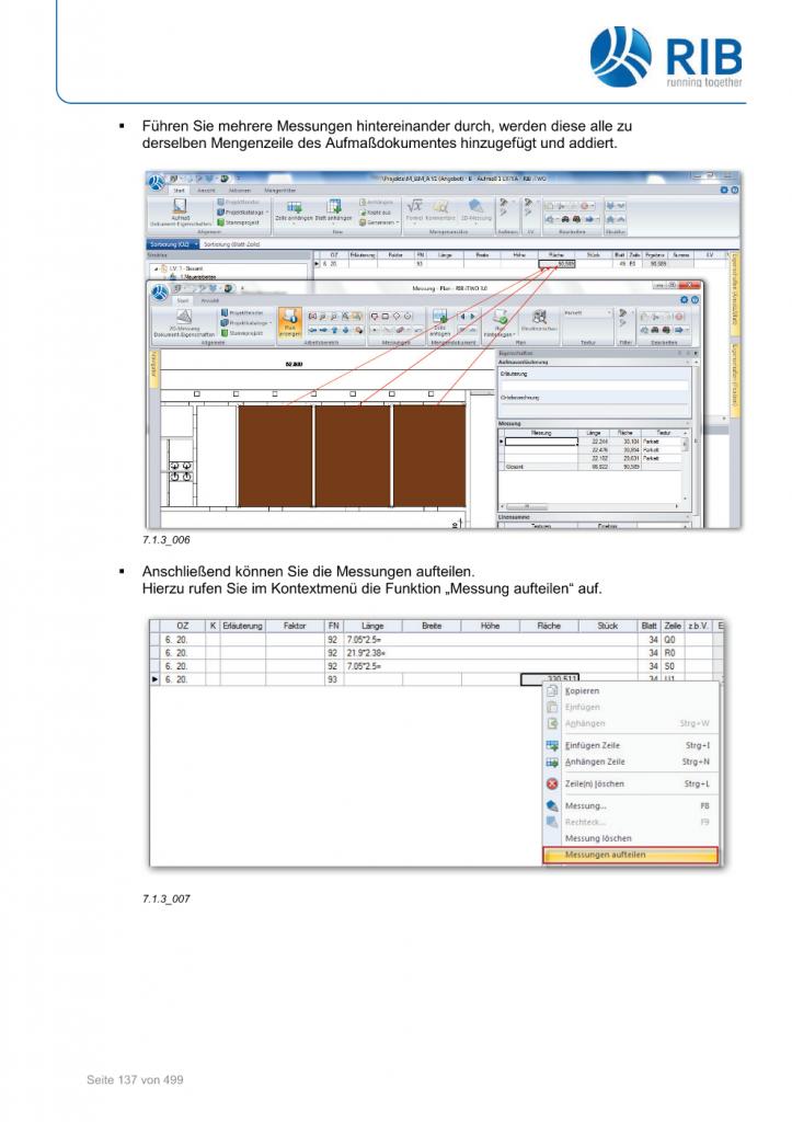 2D-Mengenermittlung mit RxSDK in iTWO Seite 011